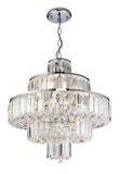Banderas 10l Crystal Pendant Light: click to enlarge